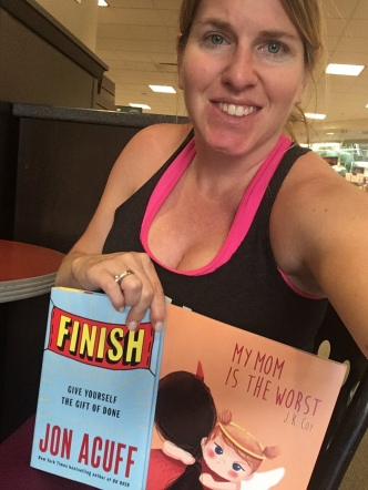 author, finish, my mom is the worst book