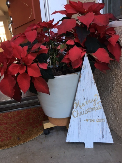 wooden christmas sign craft