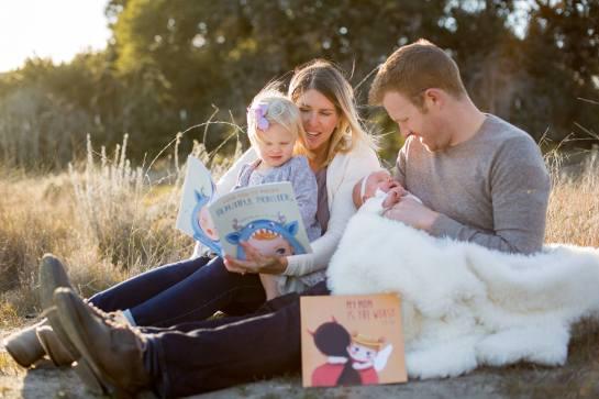 JK Coy Books baby shower season